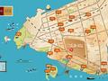 银滩•万泉城1区交通图