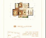 D1-34幢户型三房两厅两卫