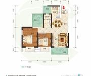 9#C户型2+1室2厅1卫