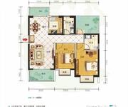 9#D户型2+1室2厅2卫