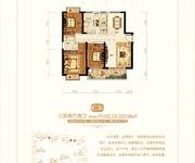 36#/37#/38#C3户型三房两厅两卫