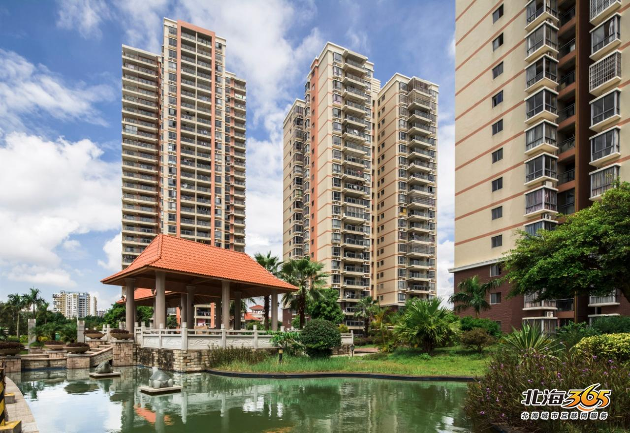 棕榈泉广场实景图