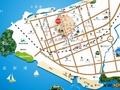 万豪港湾交通图